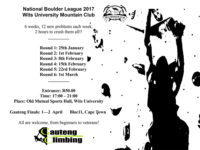 Gauteng National Bouldering League