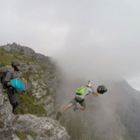 Table Mountain BASE Jump