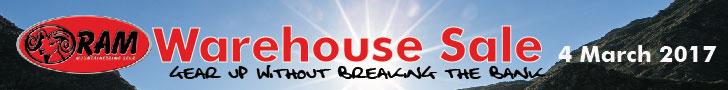 RAM Mountain Warehouse sale