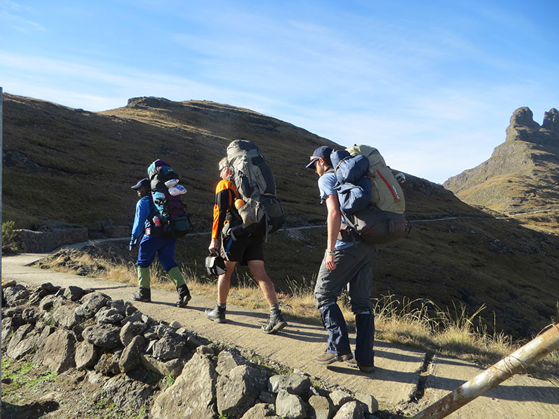 Team for the Climb for K9 - Drakensberg Grand Traverse