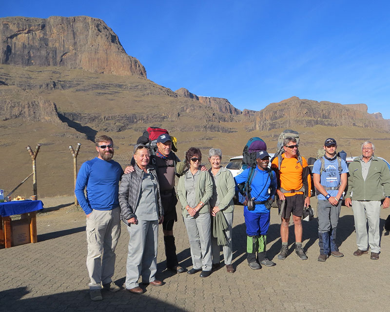 Support for the Climb for K9 - Drakensberg Grand Traverse