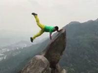 Chinese tourist fall