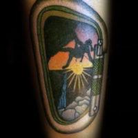 Climbing tattoos