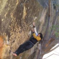 Barefoot climbing
