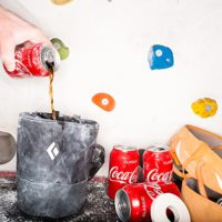 Coke climbing sponsorhip