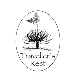 Travellers rest logo
