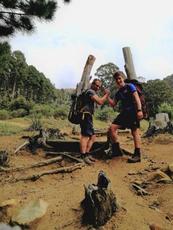 Hiking training