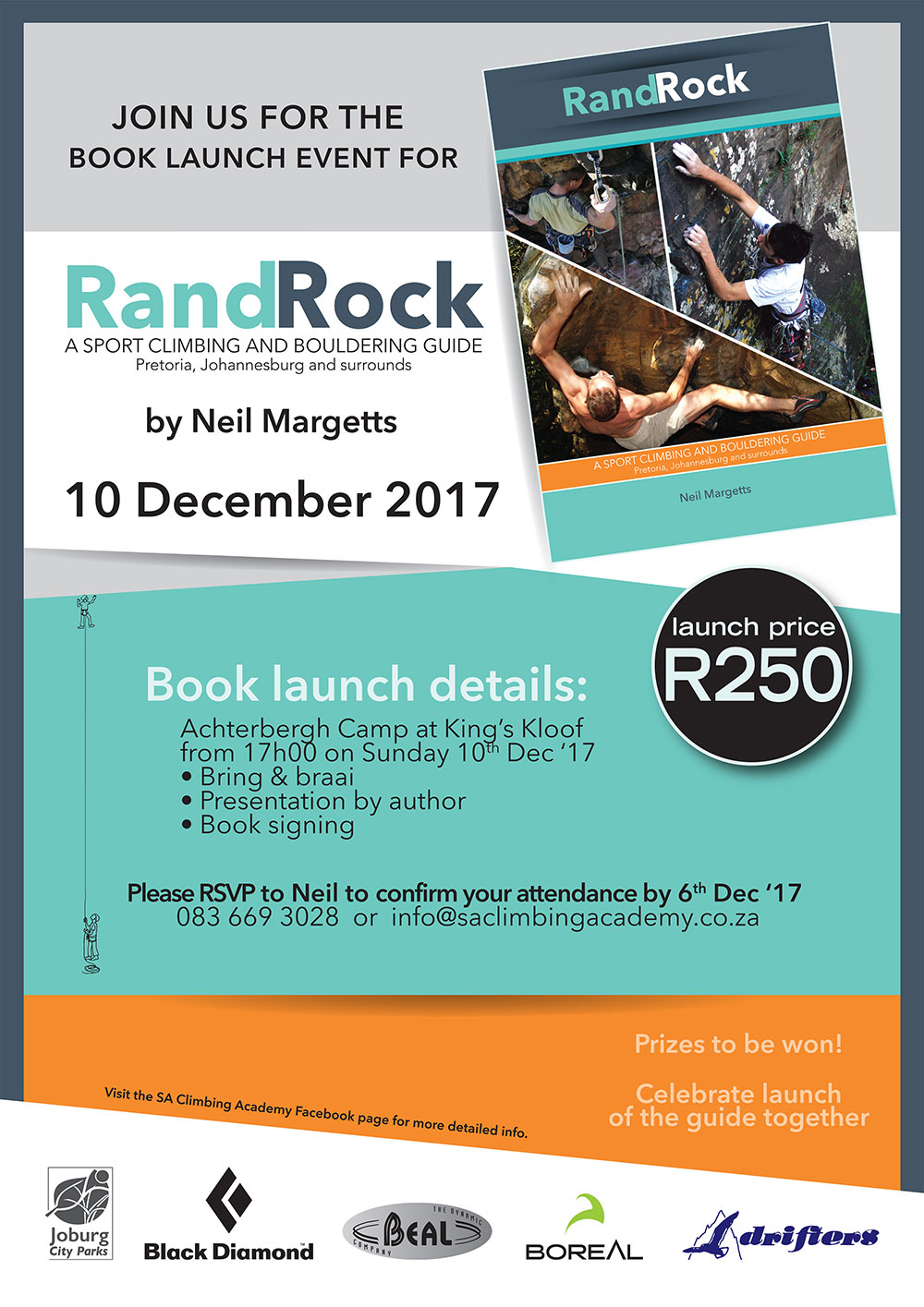 Rand Rock Climbing Guide