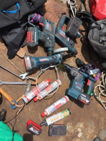 drills rebolting