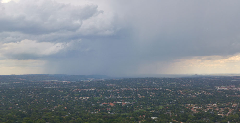 Gauteng Rain shower