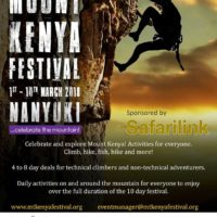 Mount Kenya Festival 2018
