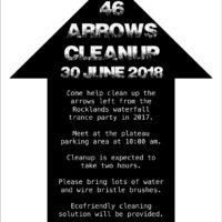 Rocklands clean up
