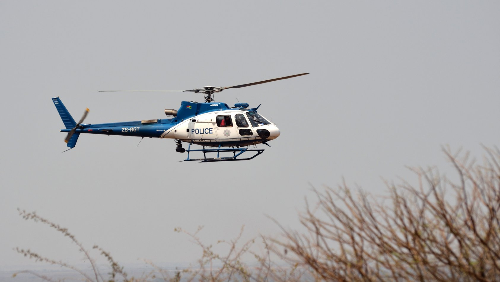 SAPS Helicopter