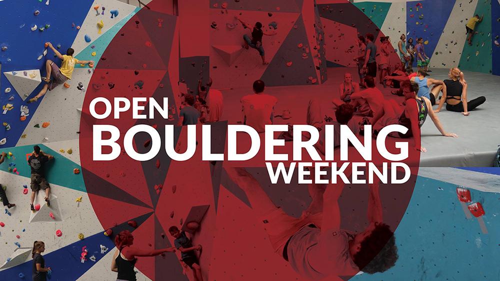 Open Bouldering