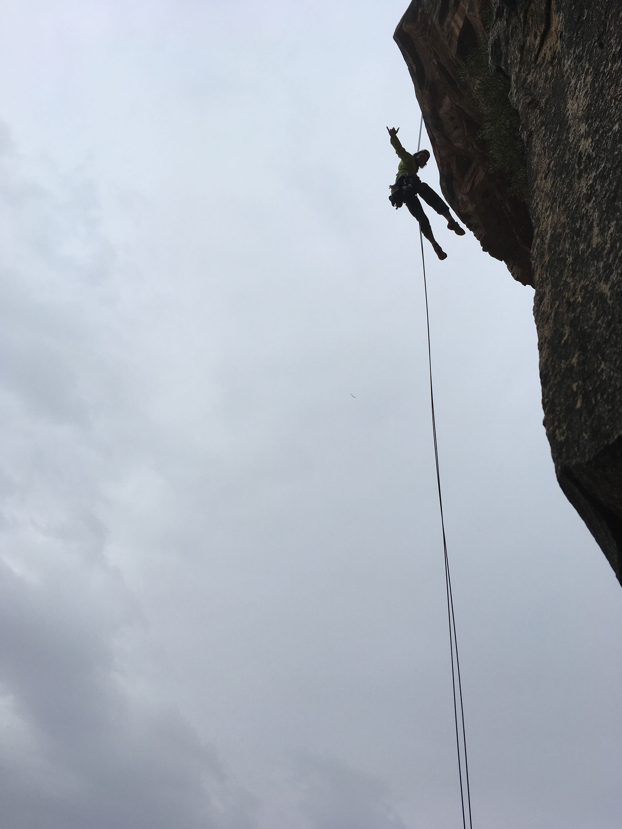 Abseil Hope Buttress