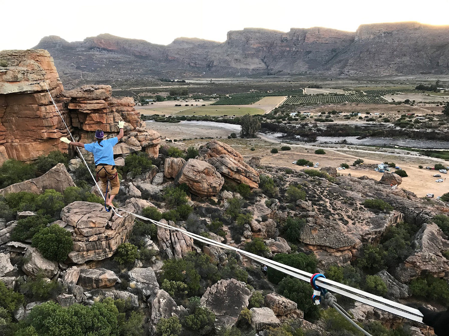 Rocklands Highline 2019