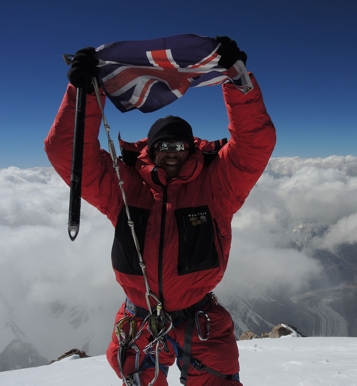 Adrian Hayes K2 Summit