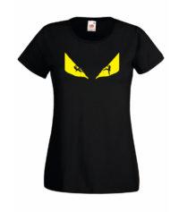 ClimbZA Anima Womens Tshirt Black front