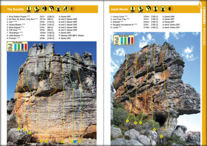Western Cape Rock - Rocklands - The Bastille & Adult World