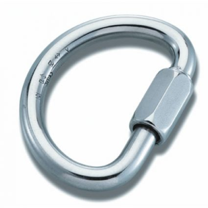 Maillon Rapide Demi Round Aluminium 10mm