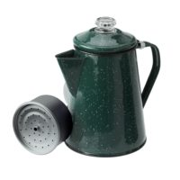 GSI Outdoors Enamel 12 Cup Percolator - Green