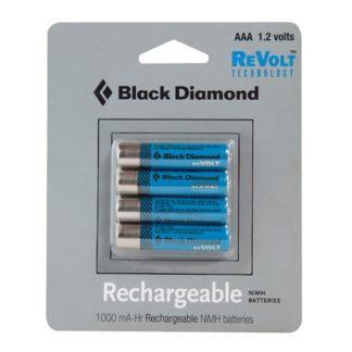 Black Diamond AAA Rechargable Battery 4-Pack