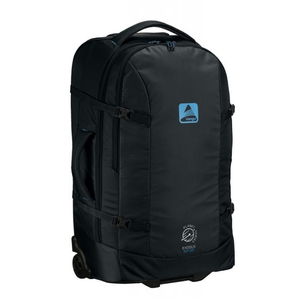 8fefd2f6a590 Vango Exodus 60+20 Grey Blue Backpack - 80L - Climb ZA Shop
