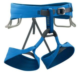 Black Diamond Mens Solution Harness - Ultra Blue