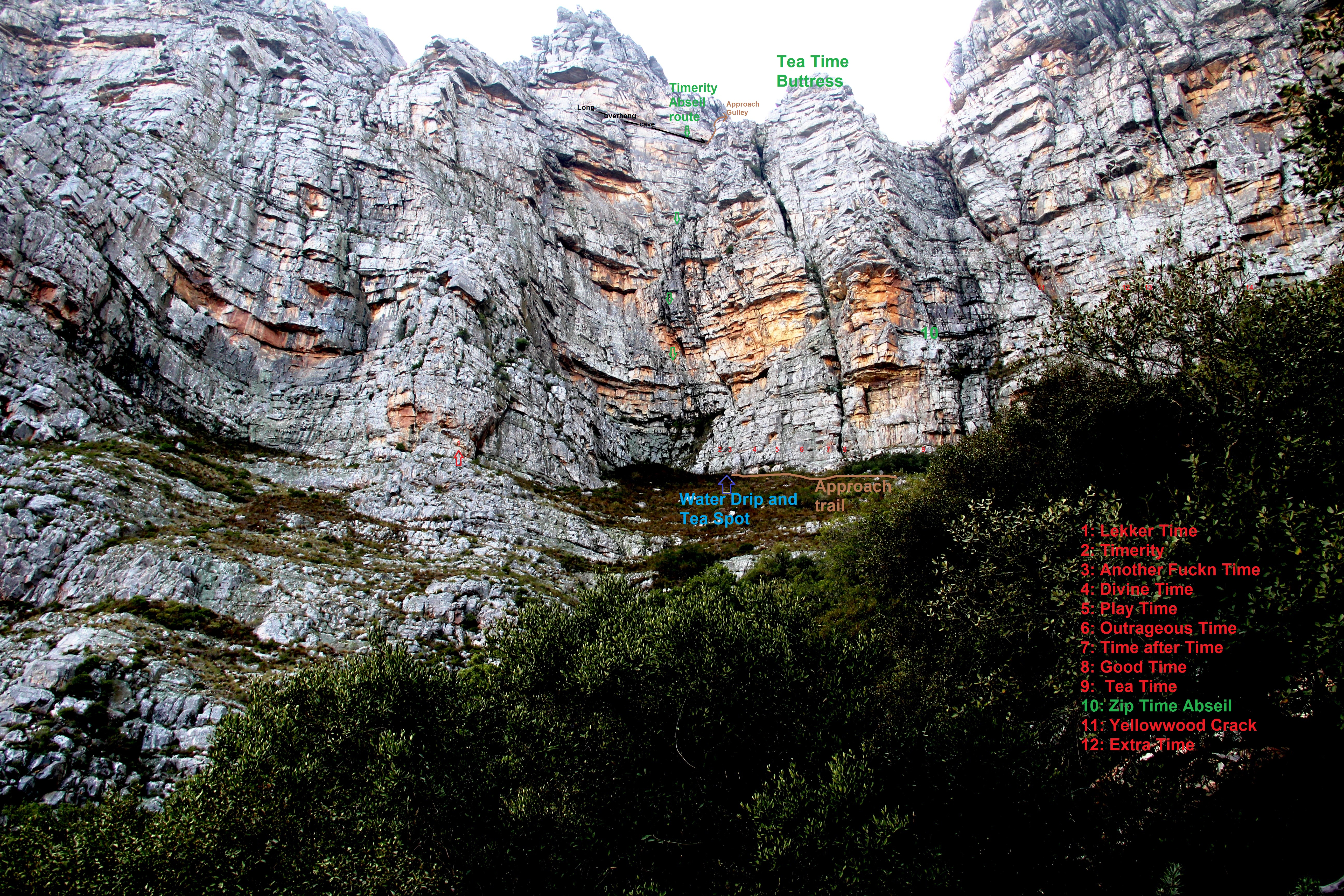Timerity Abseil Route and the start of the other routes marked.jpg