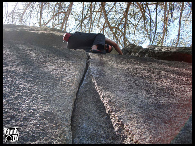 Paarl bouldering Guide, topo