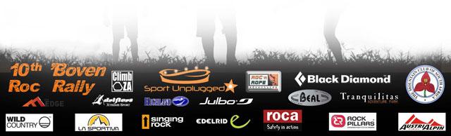 Boven Roc Rally sponsors 2012