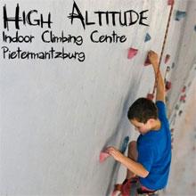 High Altitude Climbing Gym Logo