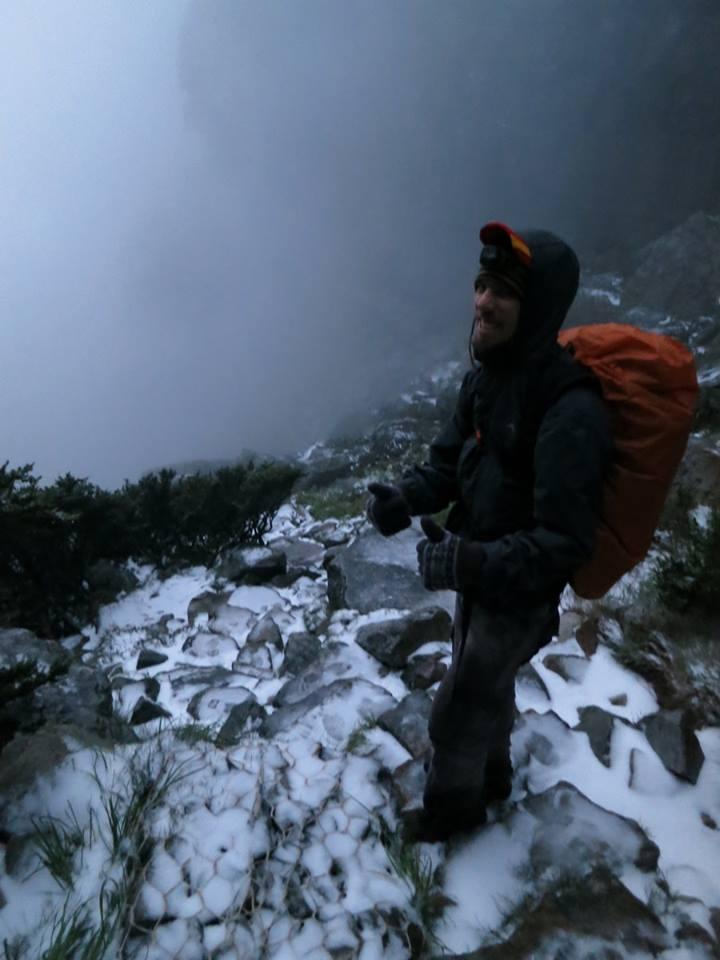 Snow on Table Mountain 2013