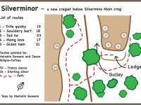 Silverminor - a new graglet below Silvermine Main Crag