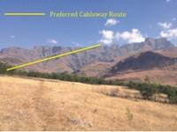Drakensberg Cableway route