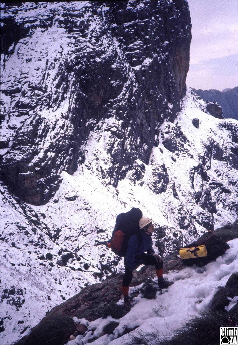Alpine conditions on Klein Winterhoek