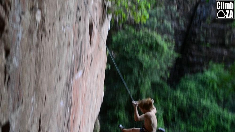 Belay accident rock climbing