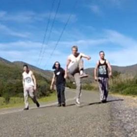 Rock climbing video Oudtshoorn