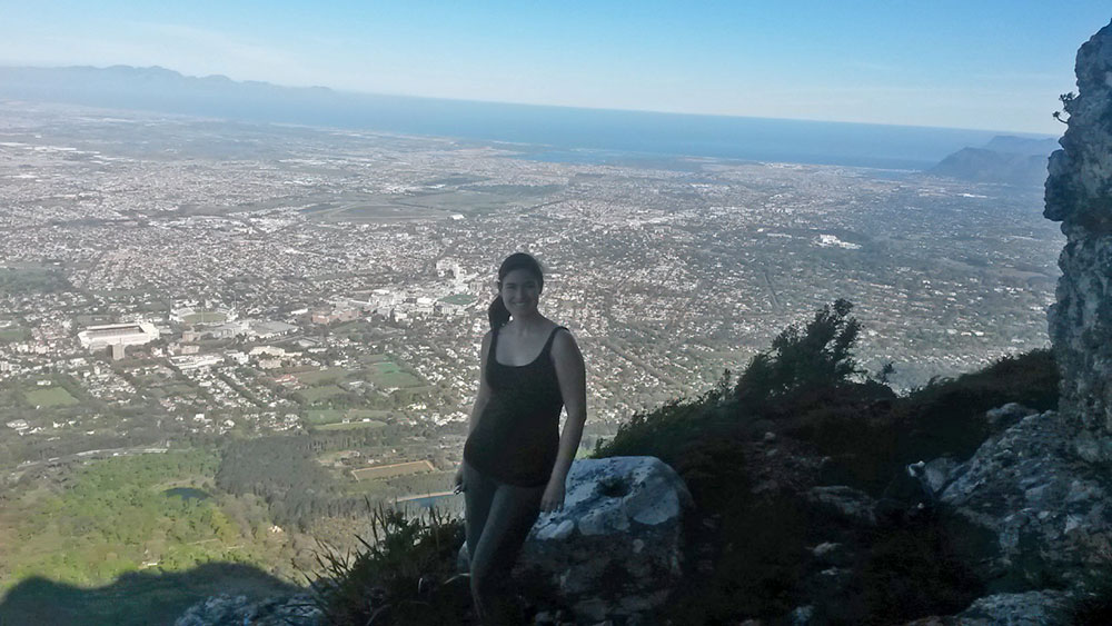 getting lost on Table Mountain