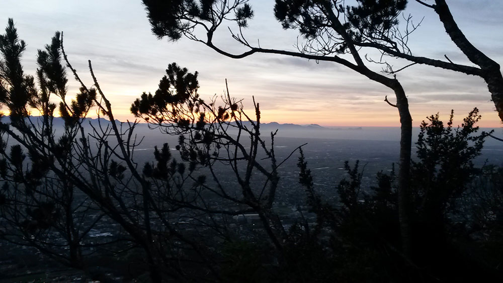 Sunrise from Table Mountain