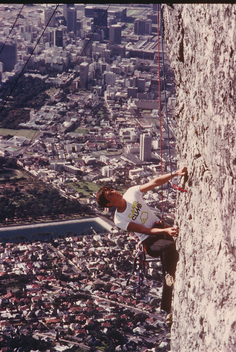 Magnetic Wall, Table Mountain