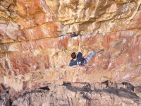Chosspile rock climbing