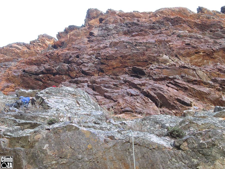 New climbing route Du Toit's Kloof