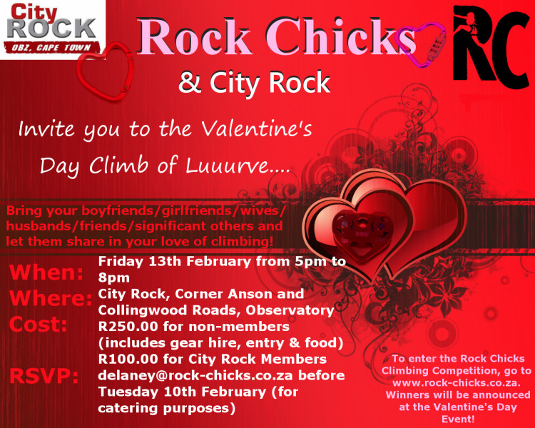 Rock Chicks City Rock Valentine's Day Event