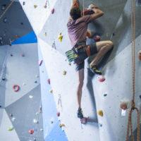 Hangtime Gym Lead Wall