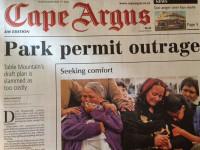 Table Mountain Permit