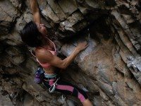 Gosia Lipinska climbing Switchbitch