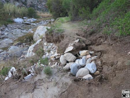 Path erosion