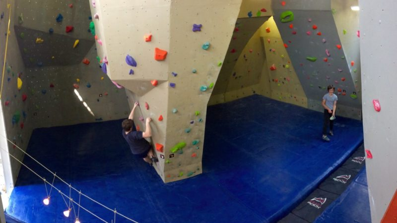 A gym full of diverse new routes