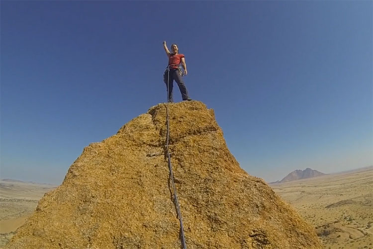 Spitzkoppe Rock Climbing